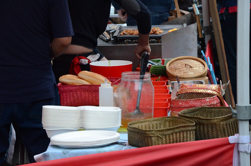 Street food pop-up market I