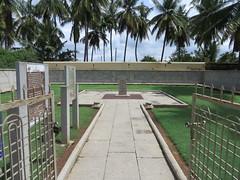 Memorial Marker to Tipu Sultan