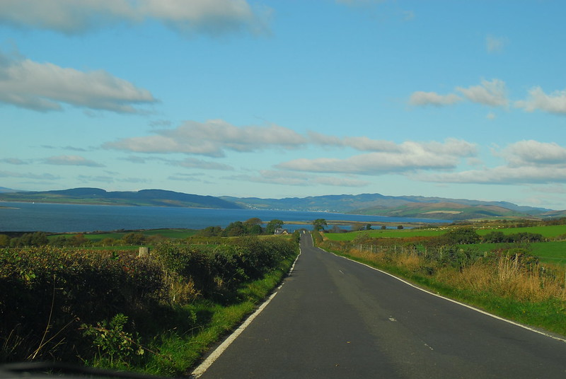 Road to Ettrick Bay,Isle of Bute
