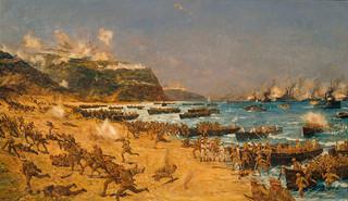Landing at Gallipoli