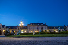 Chateau forecourt