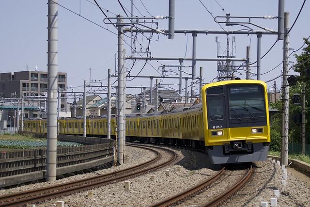 西武鉄道 6000系電車(6157F)