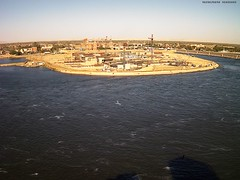 New Assiut Barrage and Hydropower Plant Project posted a photo:Web Camera Warningfont { font-size: 12pt;}Snapshot: Sun, 19 Apr 2015 16:05:10Automatically sent by Assiut Barrage Webcam.