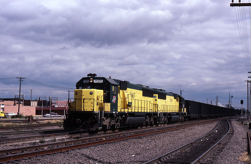 columbus up nebraska trains unionpacific railroads emd cnw chicagonorthwestern sd60 sd50