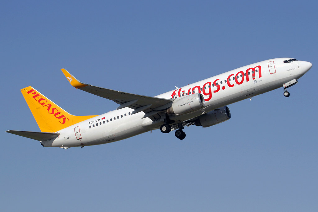 TC-IZD - B738 - Pegasus Airlines