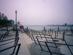 Bike Racks at Navy Pier