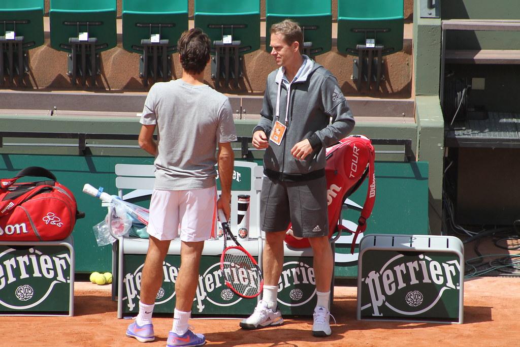 Federer and Edberg