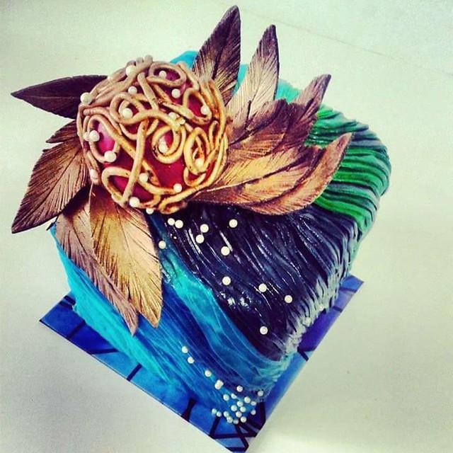 Rhapsody Cake by Nijla Ali Koya of Koyas Kakery