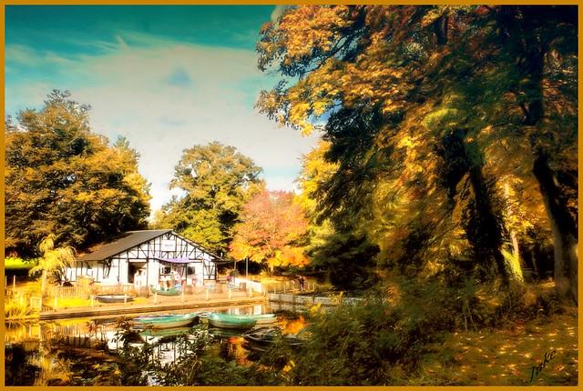 Boathouse, Pittville Park, Cheltenham,Glos. UK