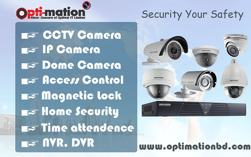 CCTV Camera in Bangladesh - CCTV Security system, IP camera , Access control , Time attendance.