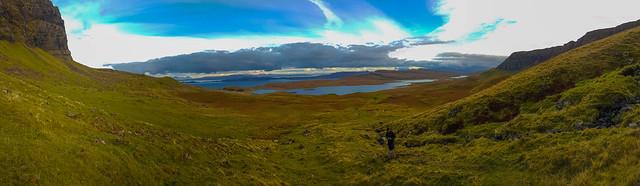 Ascending the Trotternish Ridge