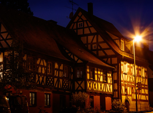 Half-timbered house in Kunreuth