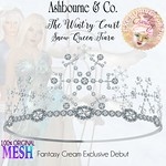 """Wintr'y Court Snow Queen Tiara"" Exclusive Release for FANTASY CREAM"
