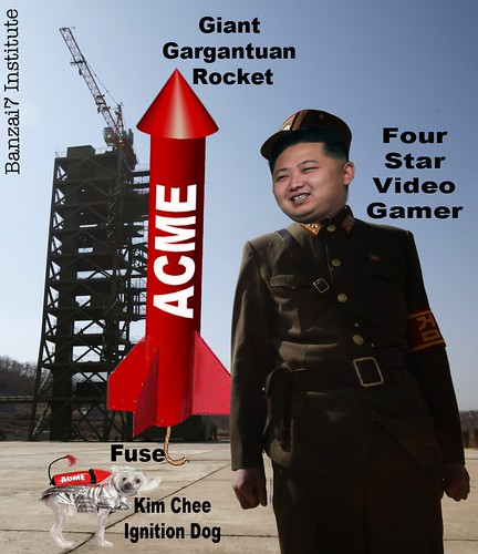 NORTH KOREAN ROCKET FACTS by Colonel Flick/WilliamBanzai7