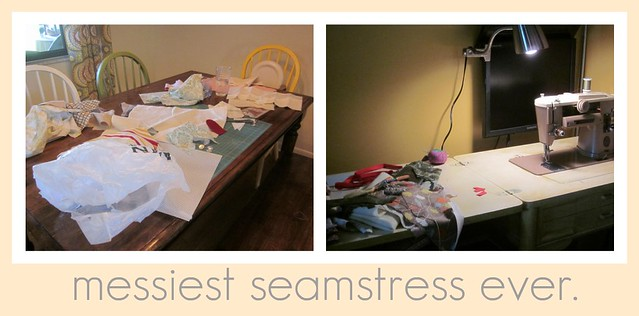 Messiest seamstress
