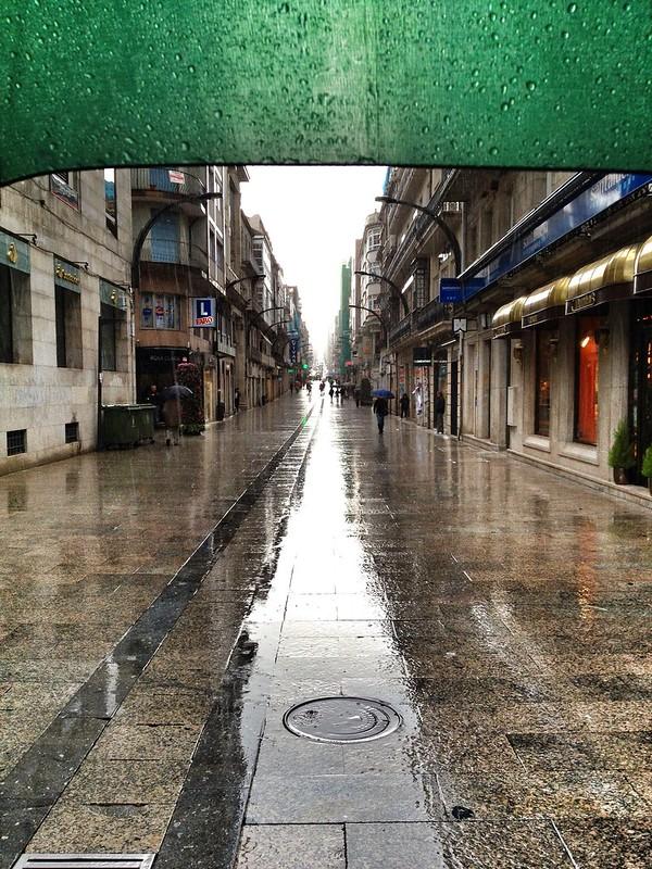 Llueve en Principe (Vigo)