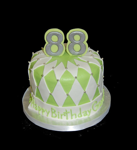 88th birthday cupcake tower topper