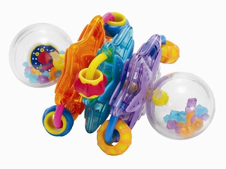 Whoozit Baby Rattle