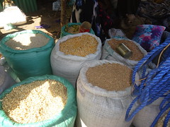 Practical business skills training in Waaberi Village Market, Abudwak District