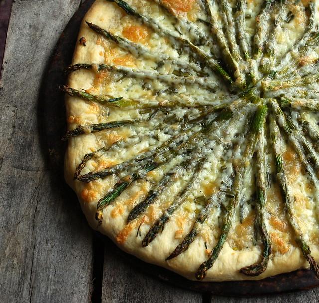 Asparagus Pizza 1
