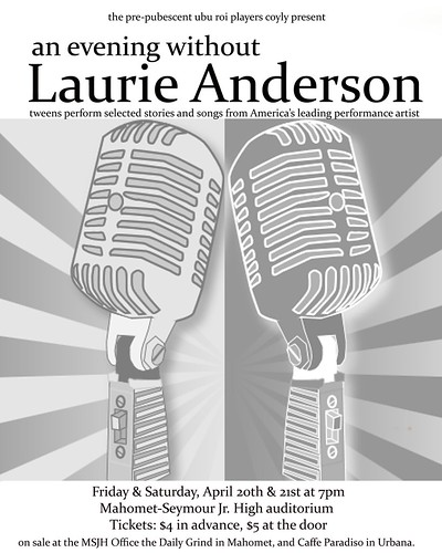 An Evening Without Laurie Anderson