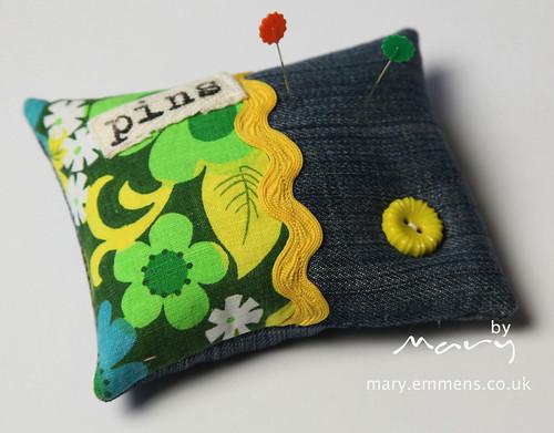 Zakka Style Pincushion