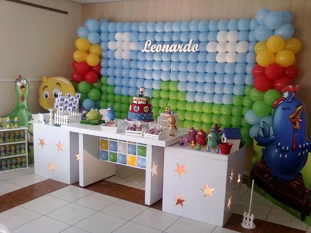 decoracao festa infantil yellow submarine
