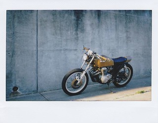 The CB400F Dresden, by Bad Juju Vehicles