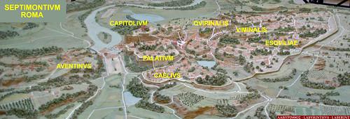 Septimontium, els set Turons de Roma por Sebastià Giralt