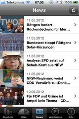 Wahl App NRW: News (von dpa)