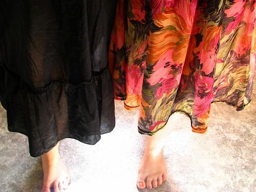 Astrid & I - dresses & toes