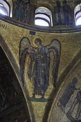 An angel in Basilica San Marco