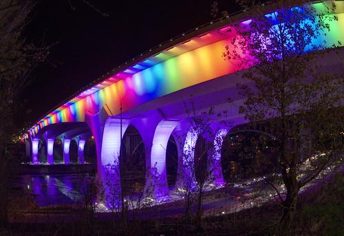 Rainbow Architecture by Sue.Ann, on Flickr