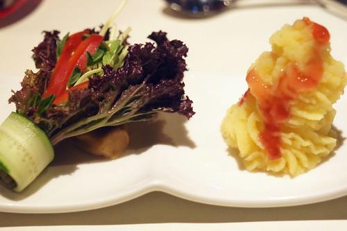 西堤素食套餐--前菜