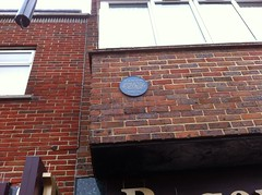 Photo of Old Blue Bell Inn, Gosport and James Philpot blue plaque