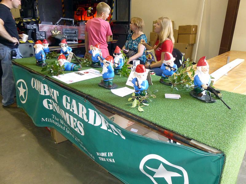 2013 Maker Faire Combat Garden Gnomes