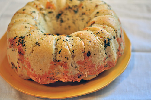 Cheesy Herbed Monkey Bread 1
