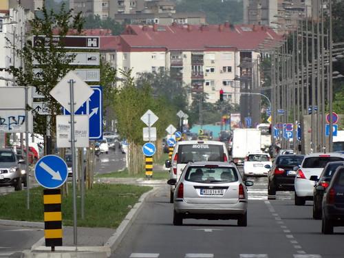 Novi Sad, Somborski bulevar by Zoran Skaljac