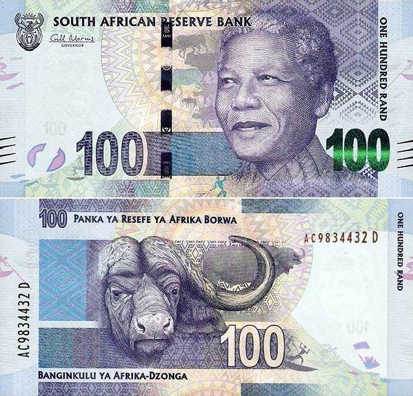 *100 Randov Južná Afrika 2012, Mandela Pick 136