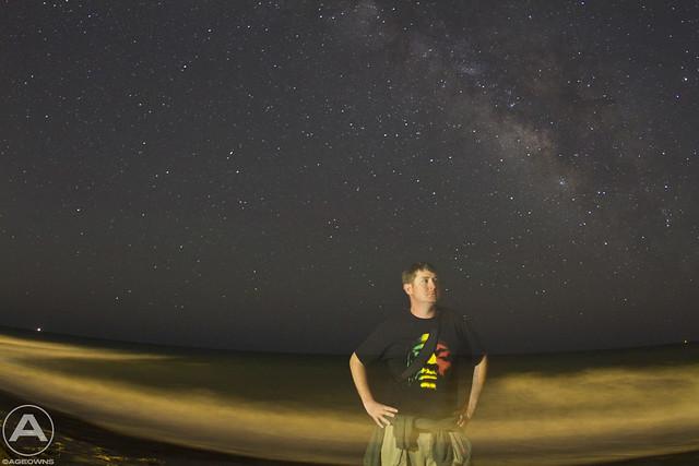 Milky Way self portrait