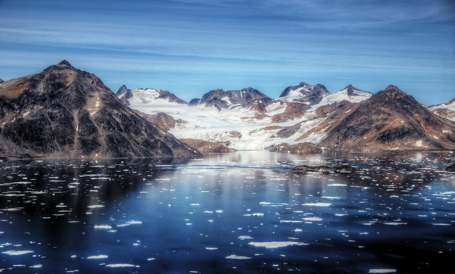 icy summer in greenland