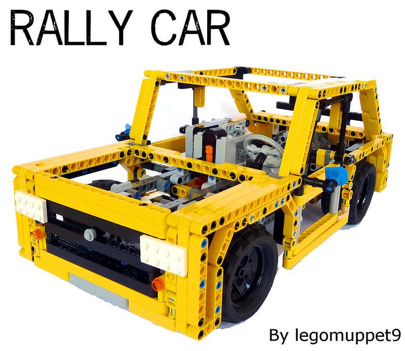 Legomuppet9 S Lego Creations Rally Car
