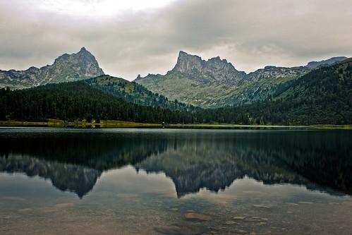 lake peaks naturalpark krasnoyarsk