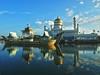 Sultan Omar Ali Saifuddin Mosque, Bandar Seri Begawan, Brunei by Ferry Vermeer