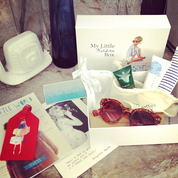 An adorable surprise from @My_Little_Paris My Little Riviera Box of sweet seaside goodies!