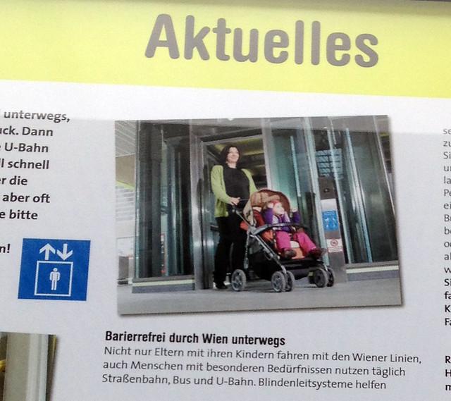 Informationen in der U2-Aspernstraße