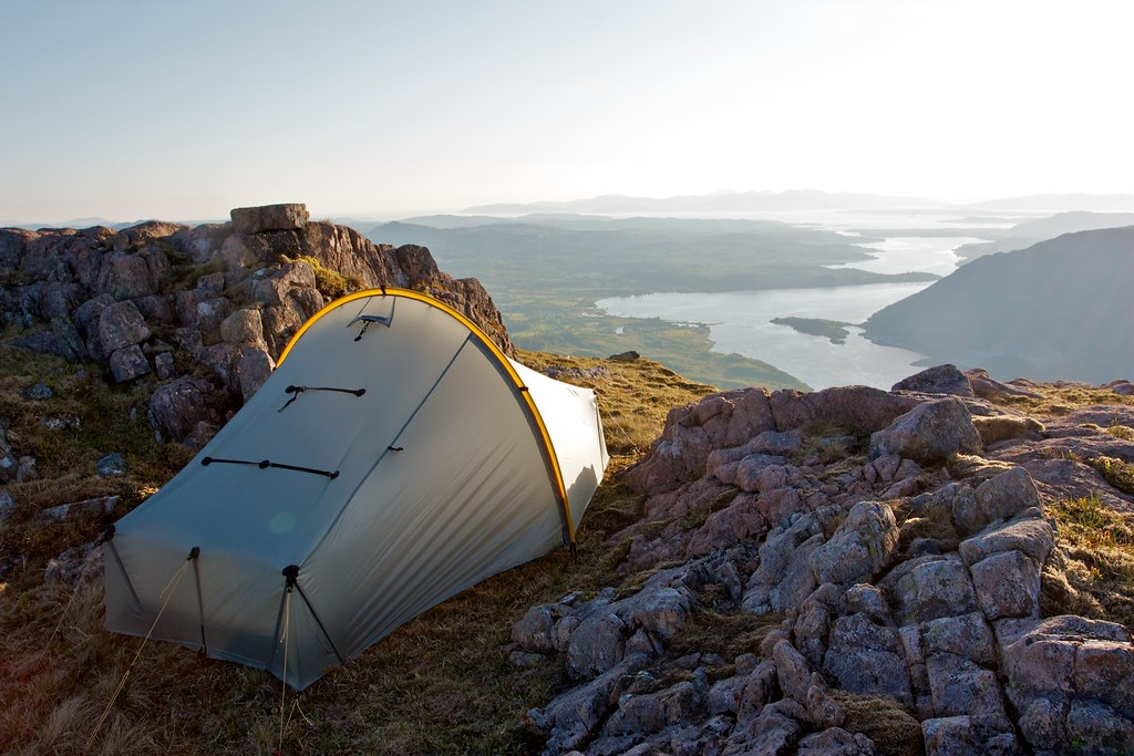 Wild camping above Loch Etive