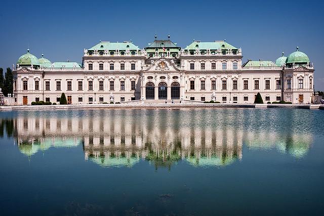 Viena. Palacio Belvedere alto