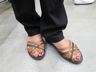 クロックス huarache mini wedge w