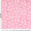M'Liss Visit to Paris Fan Blender Pink Cotton Fabric